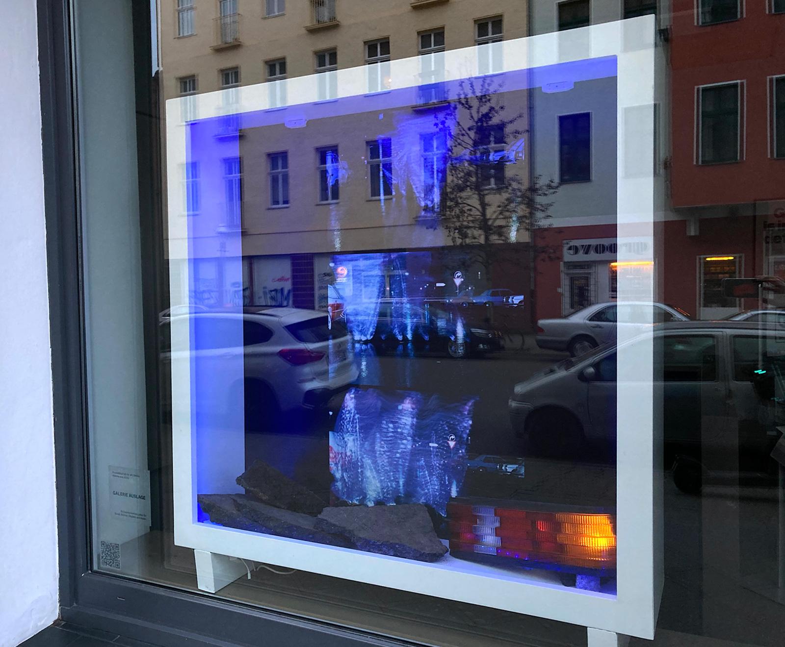 Hanna Frenzel - Bewegung in Plastik, Galerie Auslage 2021